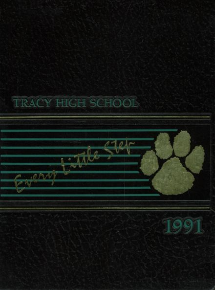 1991 Tracy High School Yearbook Cover