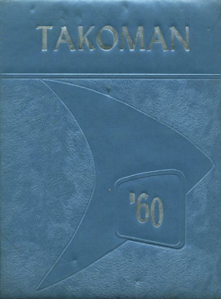1960 Takoma Academy Yearbook Cover