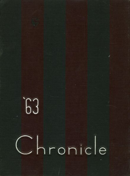 1963 St. Joseph's Prep School Yearbook Cover