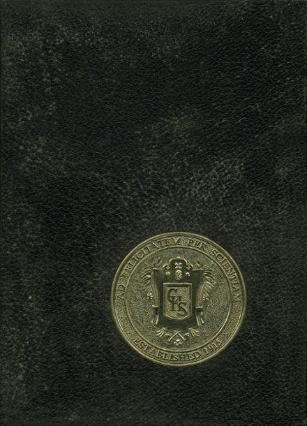 1966 Concord High School Yearbook Cover