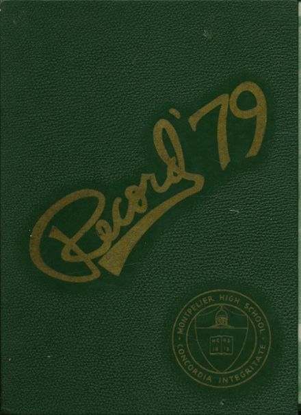 1979 Montpelier High School Yearbook Cover