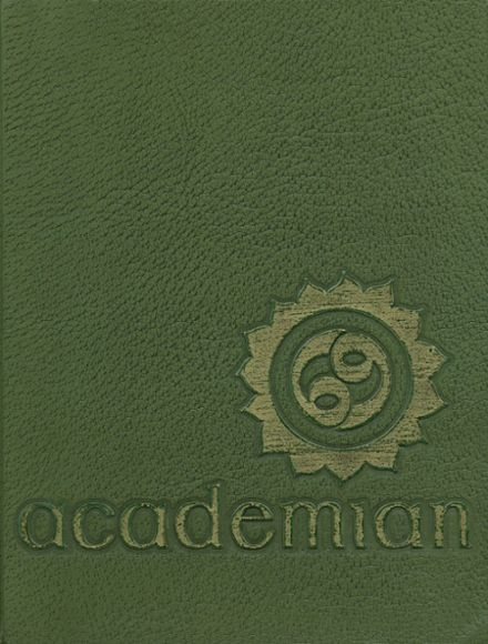 1969 Canandaigua Academy Yearbook Cover
