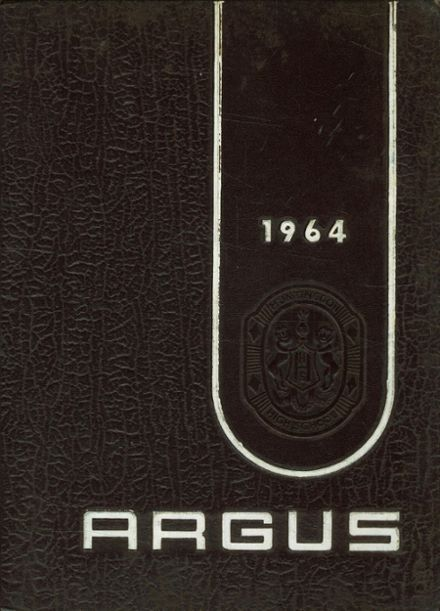 1964 Huntingdon Area High School Yearbook Cover