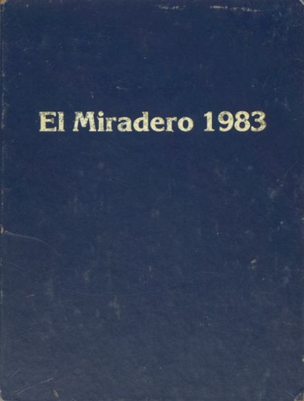 1983 Bishop's School Yearbook Cover
