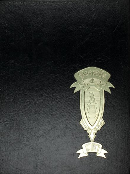 1967 Aurora High School Yearbook Cover
