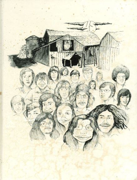 1974 Starpoint High School Yearbook Cover