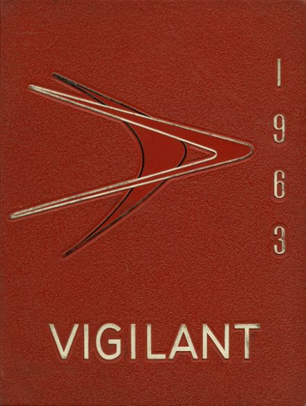 1963 River Rouge High School Yearbook Cover