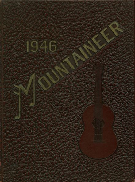 1946 Philipsburg-Osceola High School Yearbook Cover