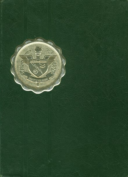 1968 Lafayette High School Yearbook Cover