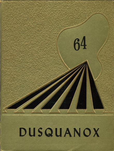1964 Duanesburg Central High School Yearbook Cover
