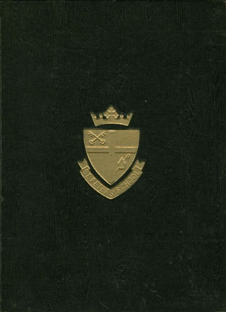 1962 St. Peter's High School Yearbook Cover