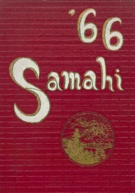1966 St. Martin's High School Yearbook Cover