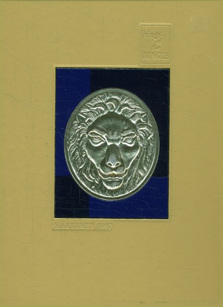 1997 St. Mark's School of Texas Yearbook Cover