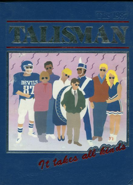 1987 Tift County High School Yearbook Cover
