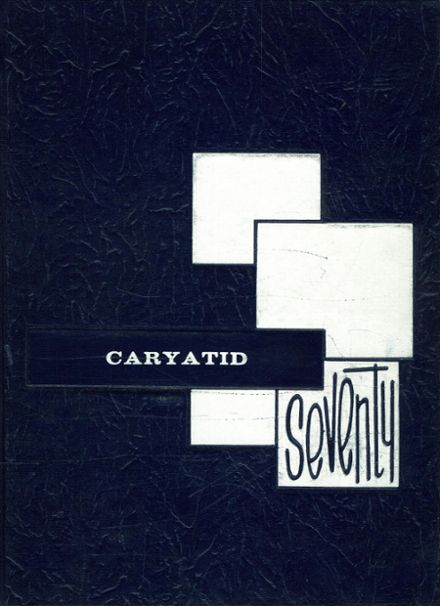 1970 Carey High School Yearbook Cover