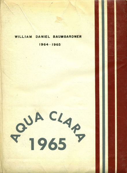 1965 Clearwater High School Yearbook Cover