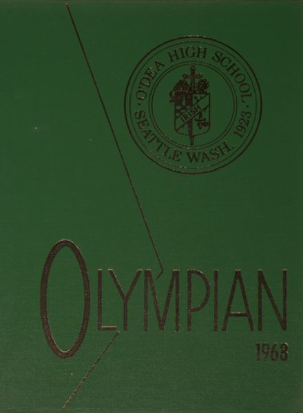 1968 O'Dea High School Yearbook Cover