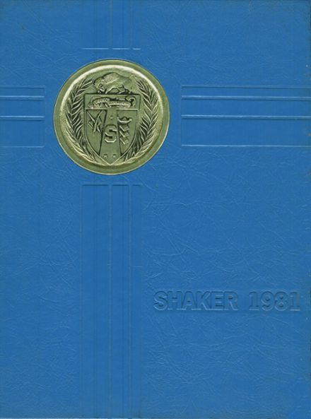1981 Shaker High School Yearbook Cover