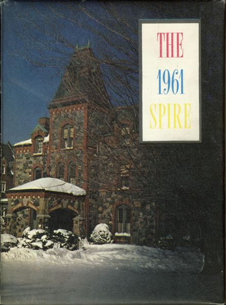 1961 St. John's Preparatory Yearbook Cover