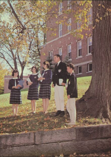 1965 Notre Dame High School Yearbook Page 3
