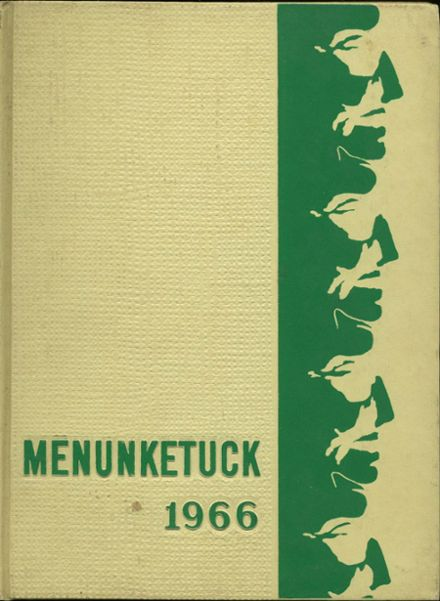 1966 Guilford High School Yearbook Cover