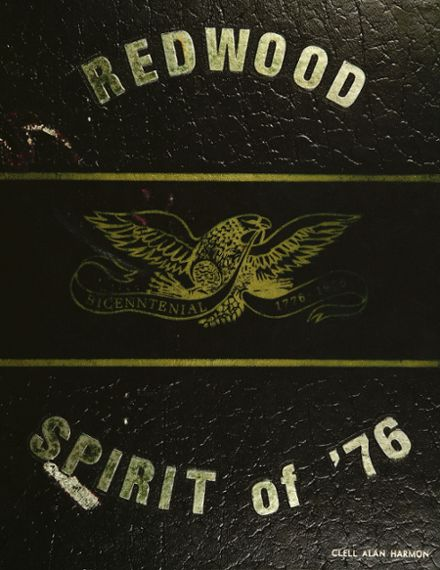 1976 Redwood High School Yearbook Cover