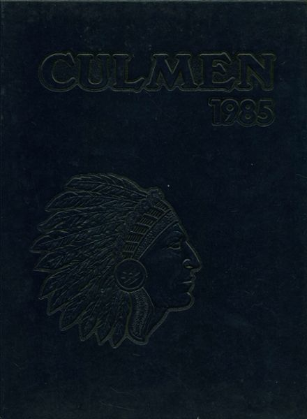 1985 Scotch Plains-Fanwood High School Yearbook Cover