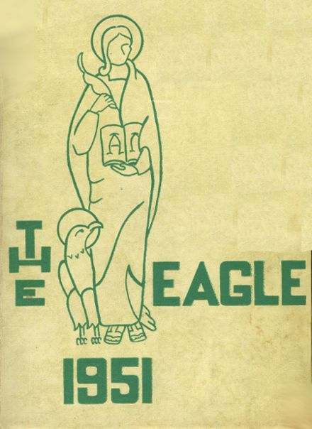 1951 St. John's Cathedral High School Yearbook Cover
