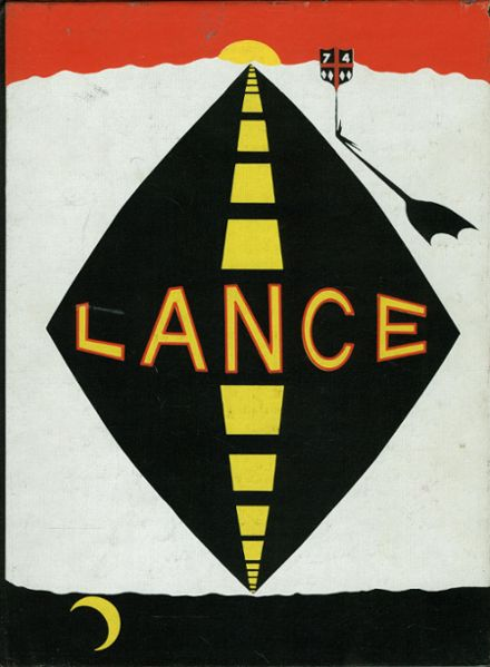 1974 St. George's School Yearbook Cover