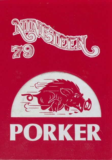 1979 Arkansas High School Yearbook Cover