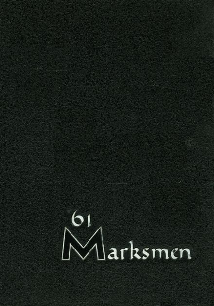 1961 St. Mark's School of Texas Yearbook Cover