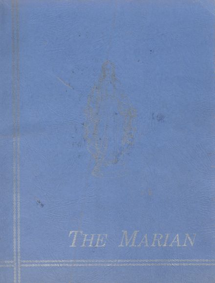 1953 St. Mary's Academy Yearbook Cover