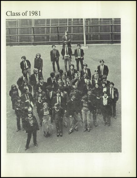 1981 loyola high school yearbook page 7
