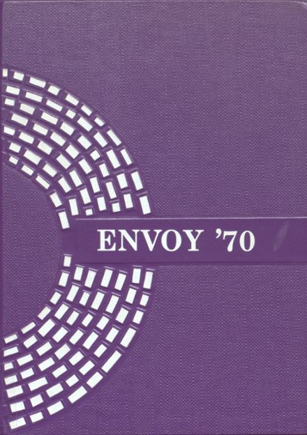 1970 L'Anse High School Yearbook Cover