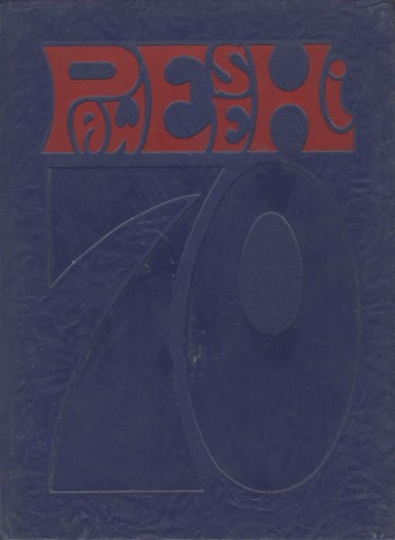 1970 Parkway West High School Yearbook Cover