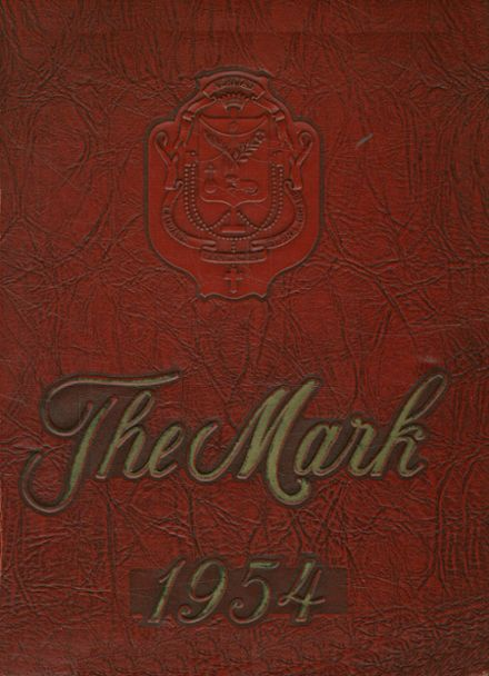 1954 St. Mark's Catholic School Yearbook Cover