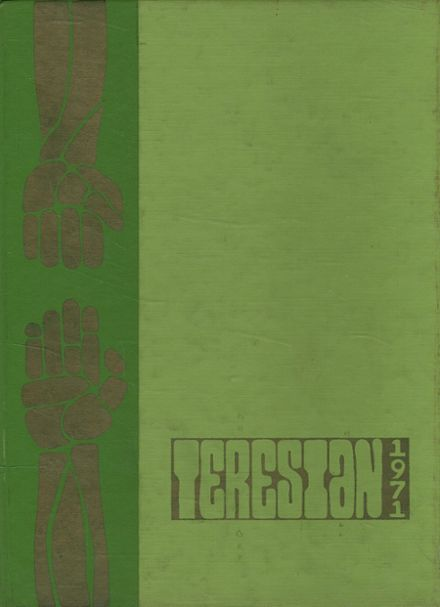 1971 St. Teresa's Academy Yearbook Cover
