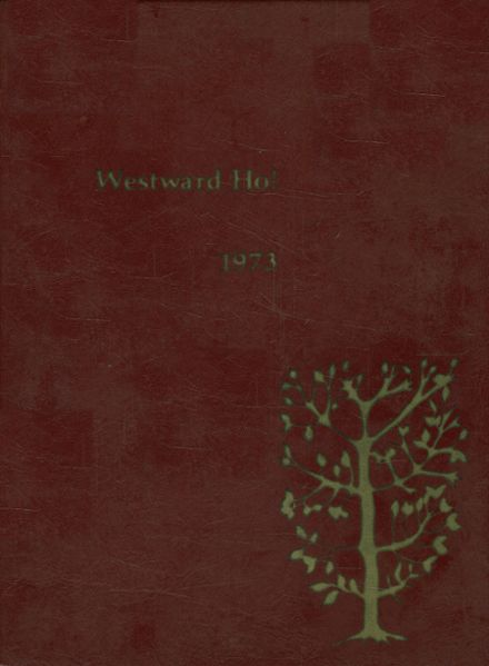 1973 Western High School 407 Yearbook Cover