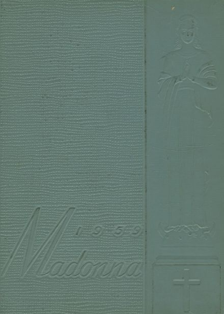 1959 St. Mary's Academy Yearbook Cover