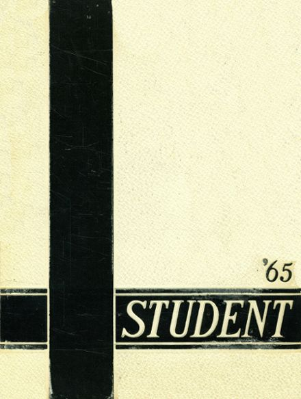 1965 Port Huron High School Yearbook Cover