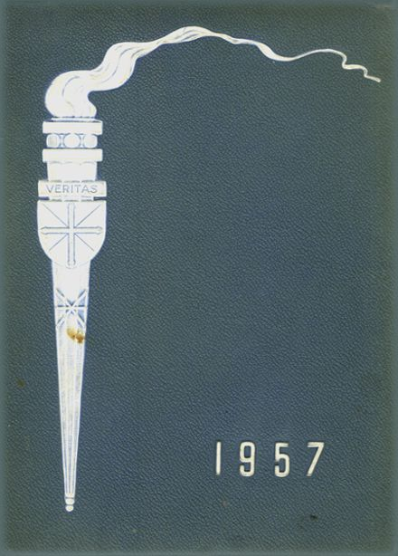 1957 St. Mary's High School Yearbook Cover