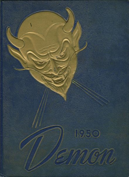 1950 Christiansburg High School Yearbook Cover