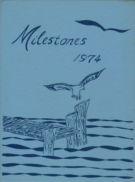 1974 Seton Hall High School Yearbook Cover