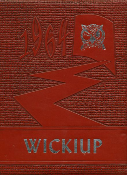 1964 Agua Fria Union High School Yearbook Cover
