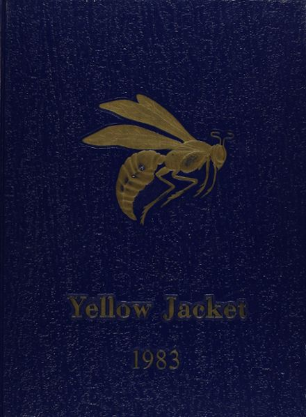 1983 Arlington Heights High School Yearbook Cover