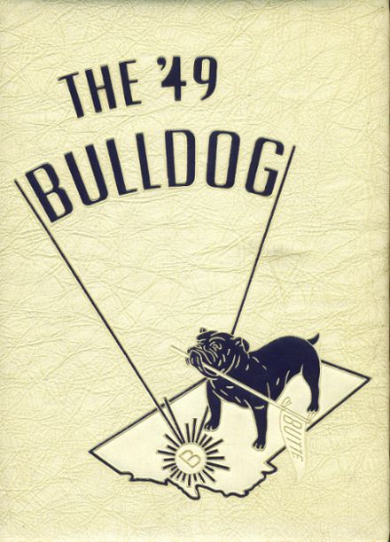 1949 Butte High School Yearbook Cover