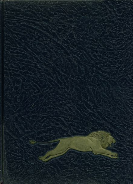 1968 Howard High School Yearbook Cover
