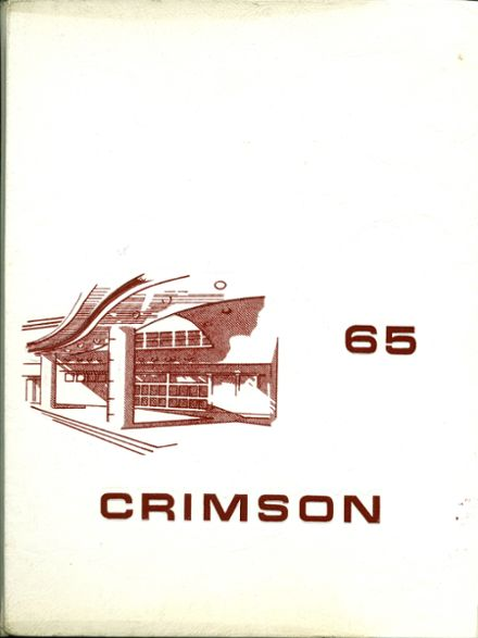 1965 East Providence High School Yearbook Cover