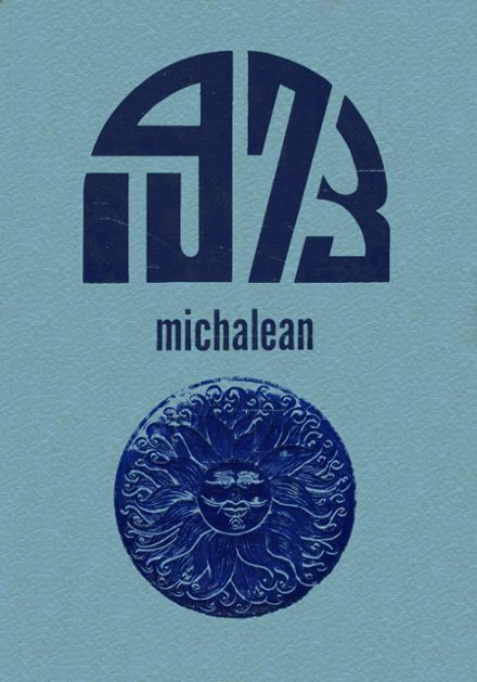 1973 St. Michael's High School Yearbook Cover