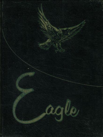 1961 O'Donnell High School Yearbook Cover